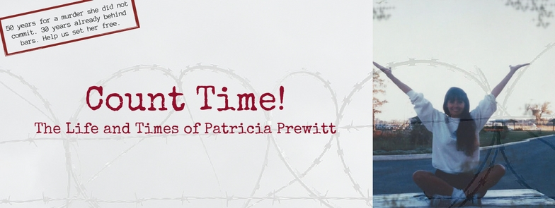 Freedom for Patty. Patricia Prewitt free Patty! Justice Injustice sentence bars prison