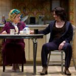 Jean in Good People. Repertory Theatre of St. Louis. Elizabeth Ann Townsend, actress instructor, Alba emoting.