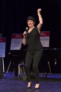 Elizabeth Ann Townsend at Fringe Closing Ceremony